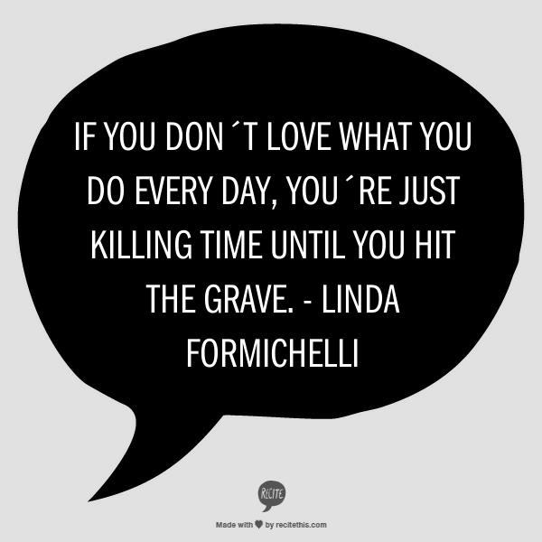 Citat Linda Formichelli